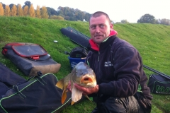 16-lb-carp-on-match-lake-open-match-Martin-Harrell-caught-on-dead-maggots-down-the-margins