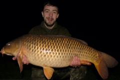 32lb-carp-Kyle-weaver-speci-lake-night-fishing-session-pleasure-fishing-Caught-on-semi-buoyant-boile-and-lead-