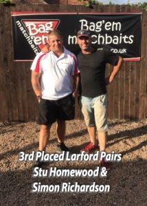 Larford Pairs 2017 3rd